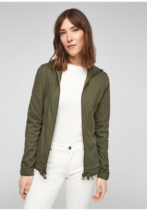 JAS - Zip-up hoodie - khaki