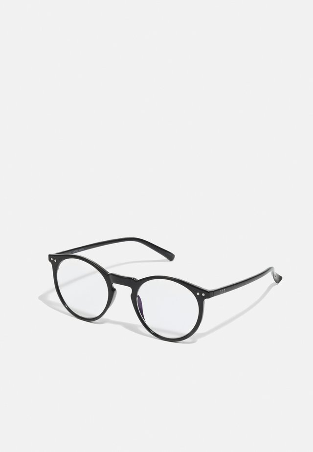 JACLION BLUE LIGHT GLASSES - Muut asusteet - black