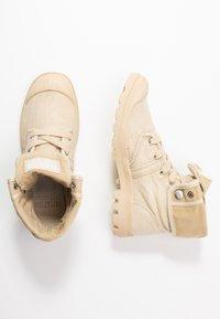 Palladium - PALLABROUSE BAGGY - Lace-up ankle boots - sahara/safari - 3
