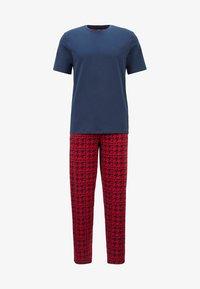 BOSS - Pyjamas - open red - 4
