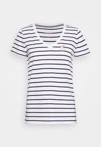 Esprit - CORE - Print T-shirt - navy - 4