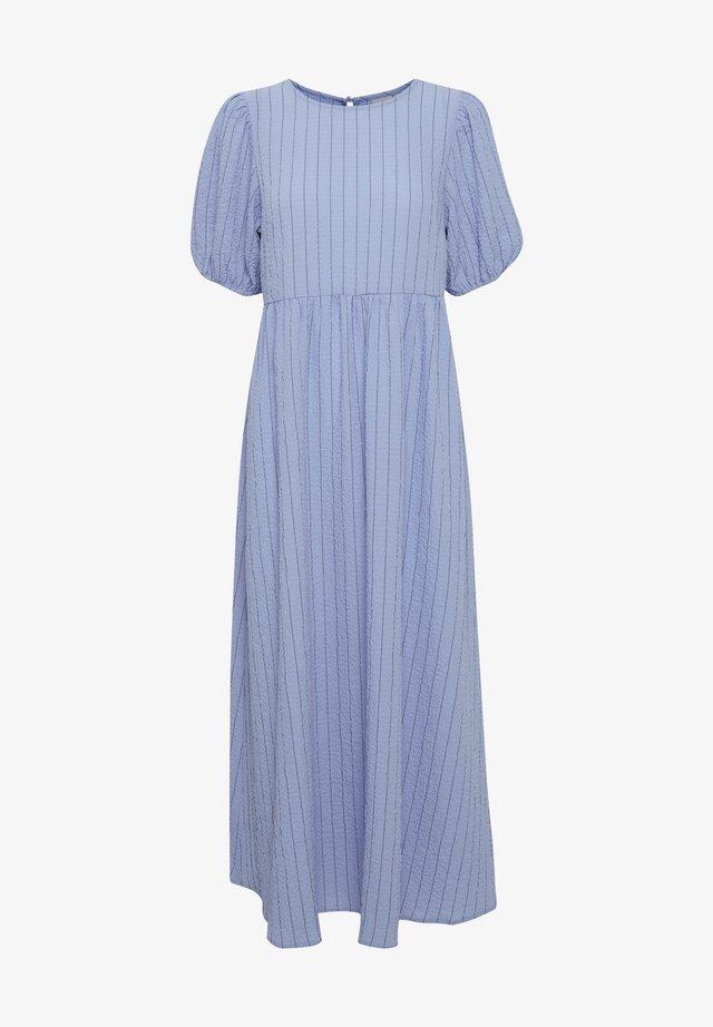 IXBOWIE - Vestito lungo - cashmere blue