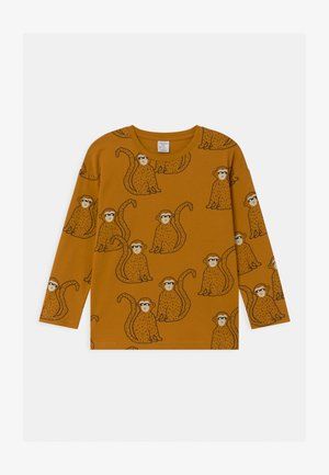 MINI MONKEY - Long sleeved top - dark dusty yelloy