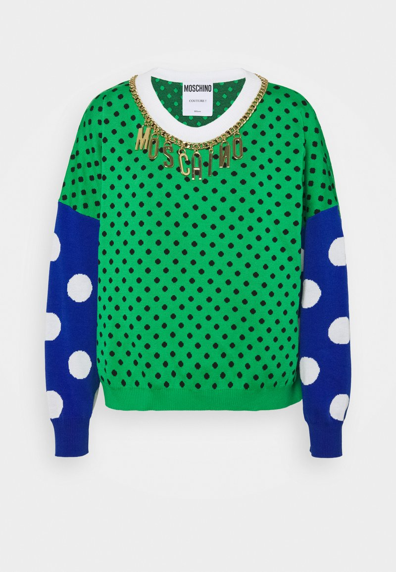 MOSCHINO - Strikkegenser - green