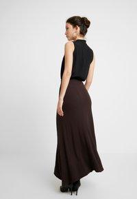 EDITED - AMILIA SKIRT - Maxi skirt - chestnut - 2