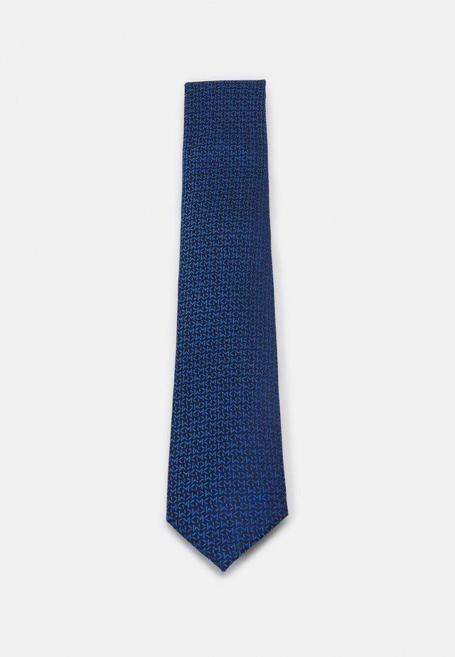 BOLD LOGO REPEAT - Krawat - navy