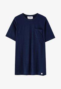 PULL&BEAR - MIT BRUSTTASCHE - T-shirt - bas - dark blue - 5