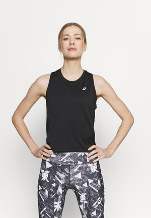 RUN TANK - Top - performance black/brilliant white