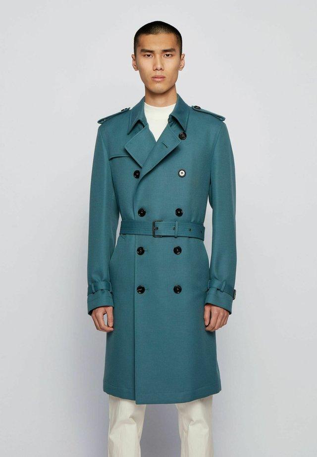 Trenchcoat - open green