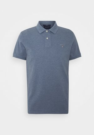 THE ORIGINAL RUGGER - Poloshirt - denim blue melange