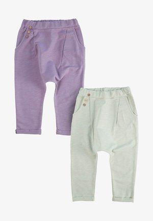 2 PACK - Tracksuit bottoms - purple