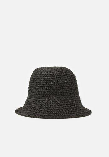 BEAM BUCKET HAT - Klobouk - black