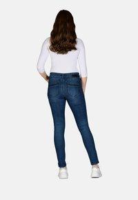 Cero & Etage - Slim fit jeans - medium blue w use - 2