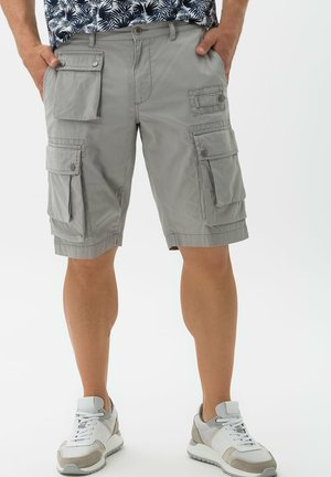 STYLE BASTIAN - Cargo trousers - platin
