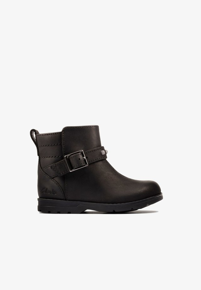 Classic ankle boots - zwart leer