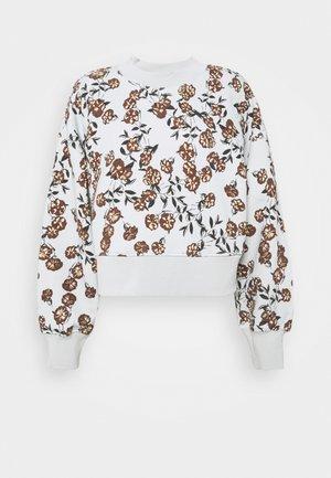 LILOU CREW  - Sweatshirt - ice flower