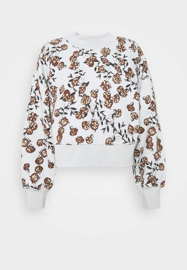 LILOU CREW  - Sweater - ice flower