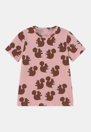 SQUIRREL TEE - T-shirt print - pink