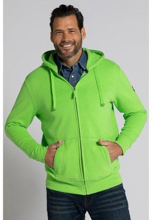 Sweater met rits - vert prairie