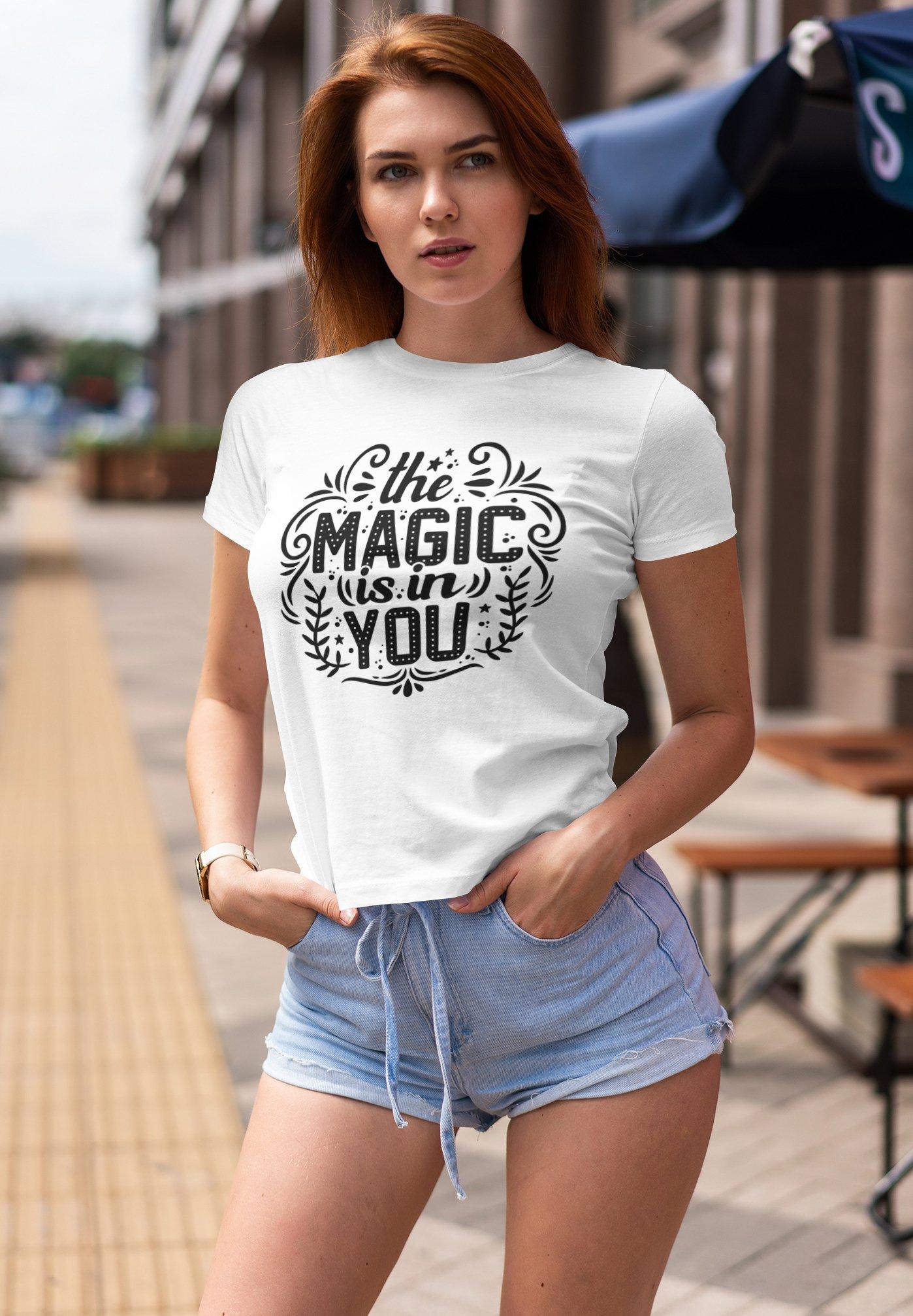 Damen MAGIC IN YOU - T-Shirt print