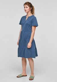 s.Oliver - Day dress - faded blue - 1