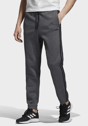 ESSENTIALS 3-STRIPES TAPERED JOGGERS - Tracksuit bottoms - grey