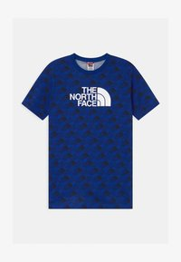 The North Face - YOUTH EASY UNISEX - Print T-shirt - blue - 0