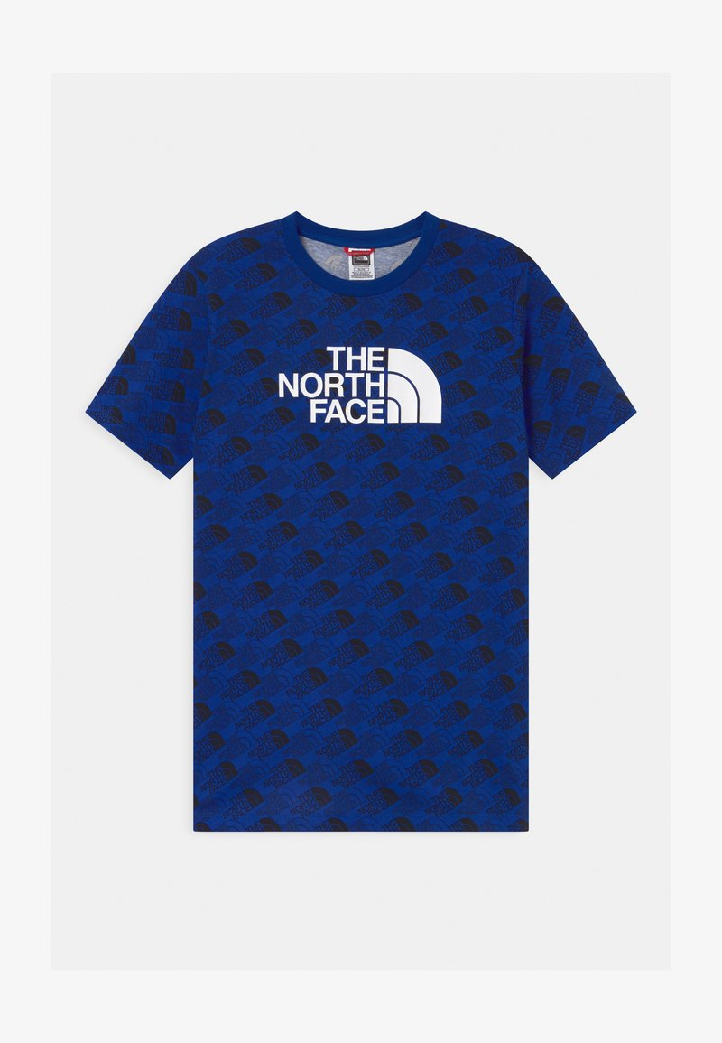 The North Face - YOUTH EASY UNISEX - Print T-shirt - blue