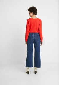 GAP - MONTANA - Flared jeans - dark indigo - 2