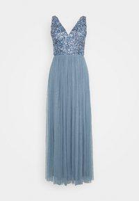 Lace & Beads - ALEXIS MAXI - Společenské šaty - blue - 4