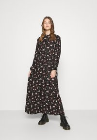 Vero Moda - VMFLORA MAXI DRESS - Maxi dress - black - 0