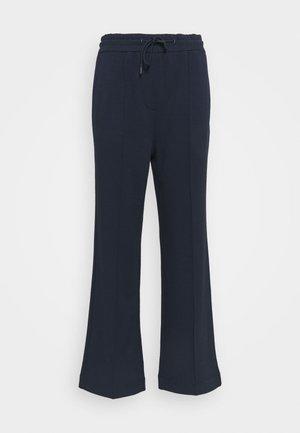 THE WIDE LEG PANTS - Pantaloni sportivi - scandinavian blue