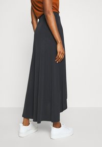 Object - OBJANNIE MIDI SKIRT - STRAIGHT - Wrap skirt - black - 3