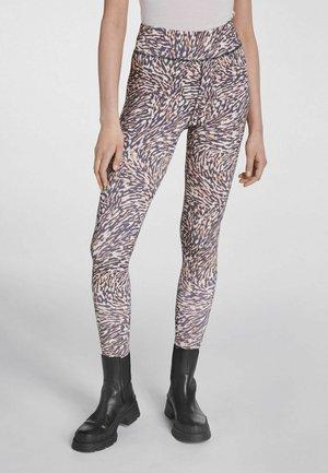 Leggings - Trousers - white black