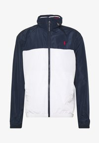 Polo Ralph Lauren - AMHERST FULL ZIP JACKET - Veste coupe-vent - aviator navy/pur - 6