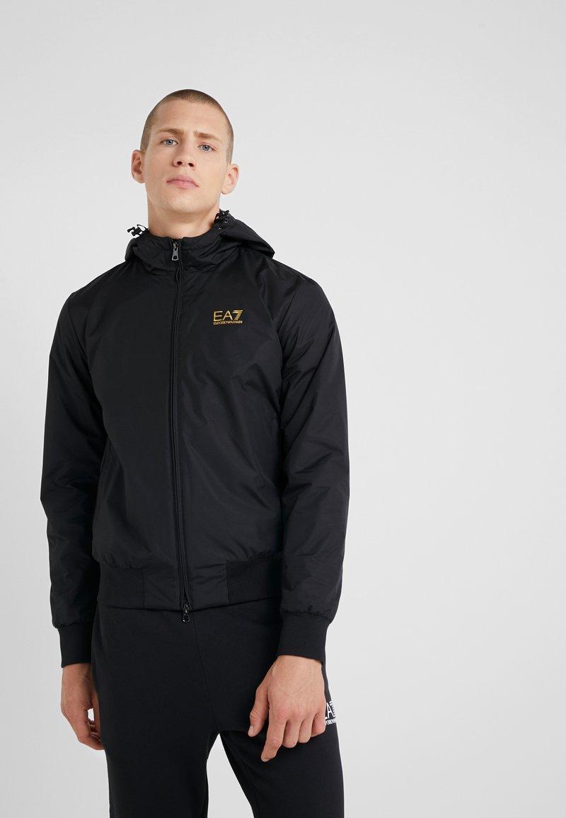EA7 Emporio Armani - JACKET - Summer jacket - black