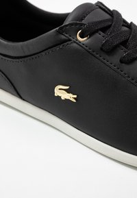 Lacoste - REY LACE - Baskets basses - black/offwhite - 2