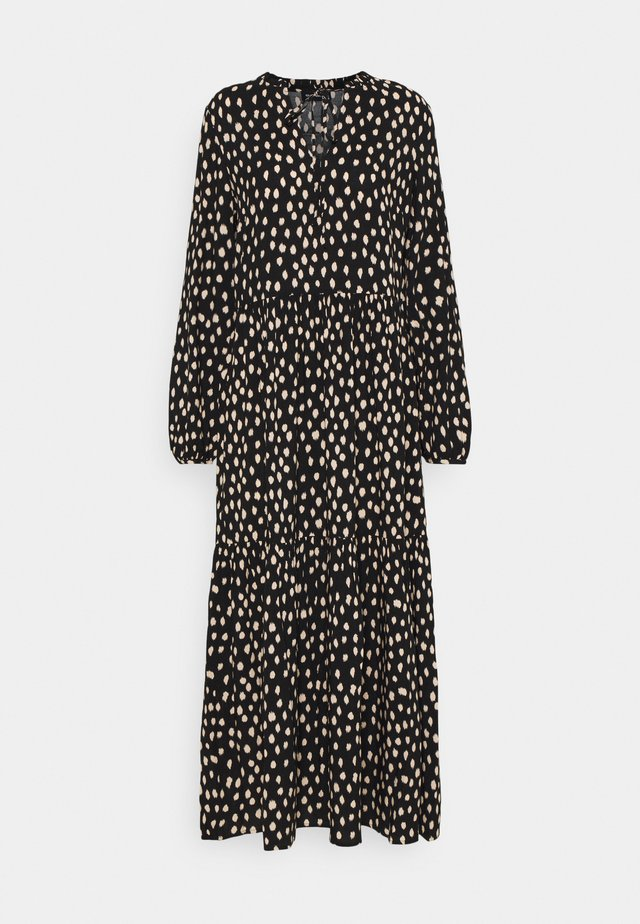 Maxi dress - black_white