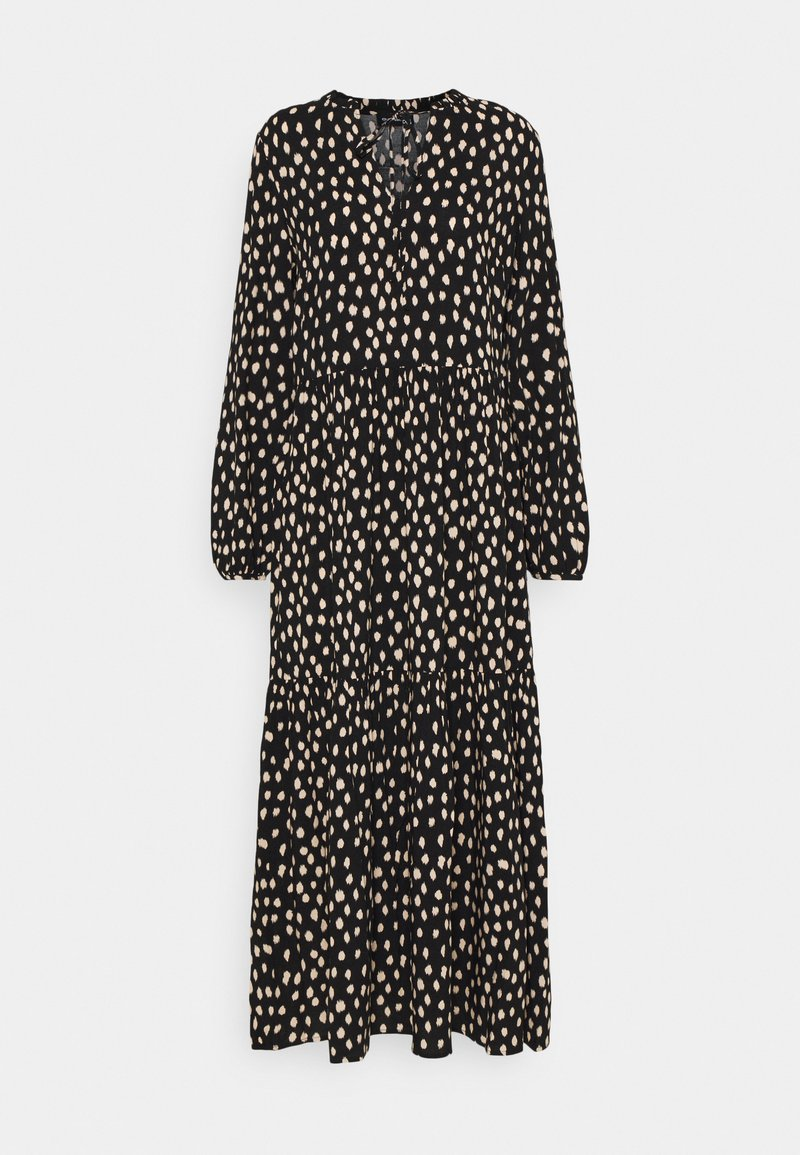 Even&Odd - Maxi dress - black_white