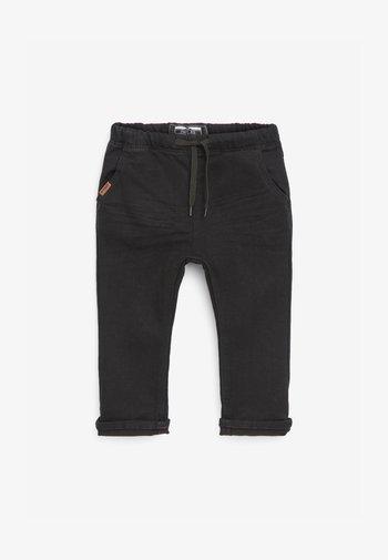 DARK BLUE  - Straight leg jeans - black