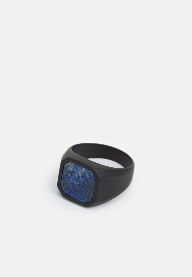 SIGNET UNISEX - Anello - black, blue