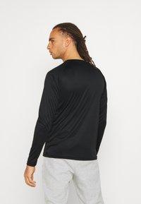 Ellesse - WESTORO  - Long sleeved top - black - 2
