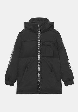 JUNIOR PADDED HOODED  - Winter coat - jet black