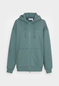 HUGE ZIP HOODIE - Zip-up sweatshirt - green