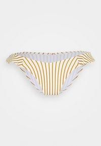 watercult - SUMMER STRIPES - Bikini pezzo sotto - white/honey - 0