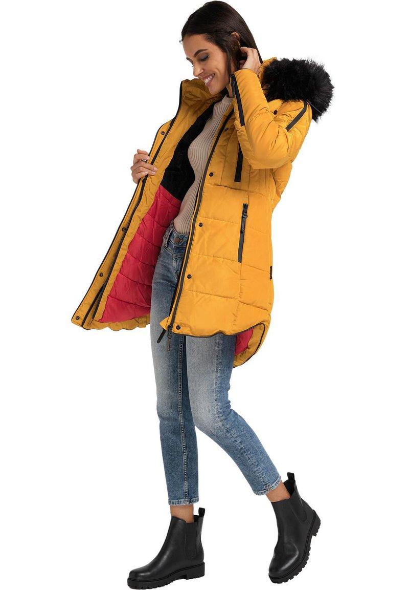 Marikoo - MOONSHINE - Winter coat - yellow