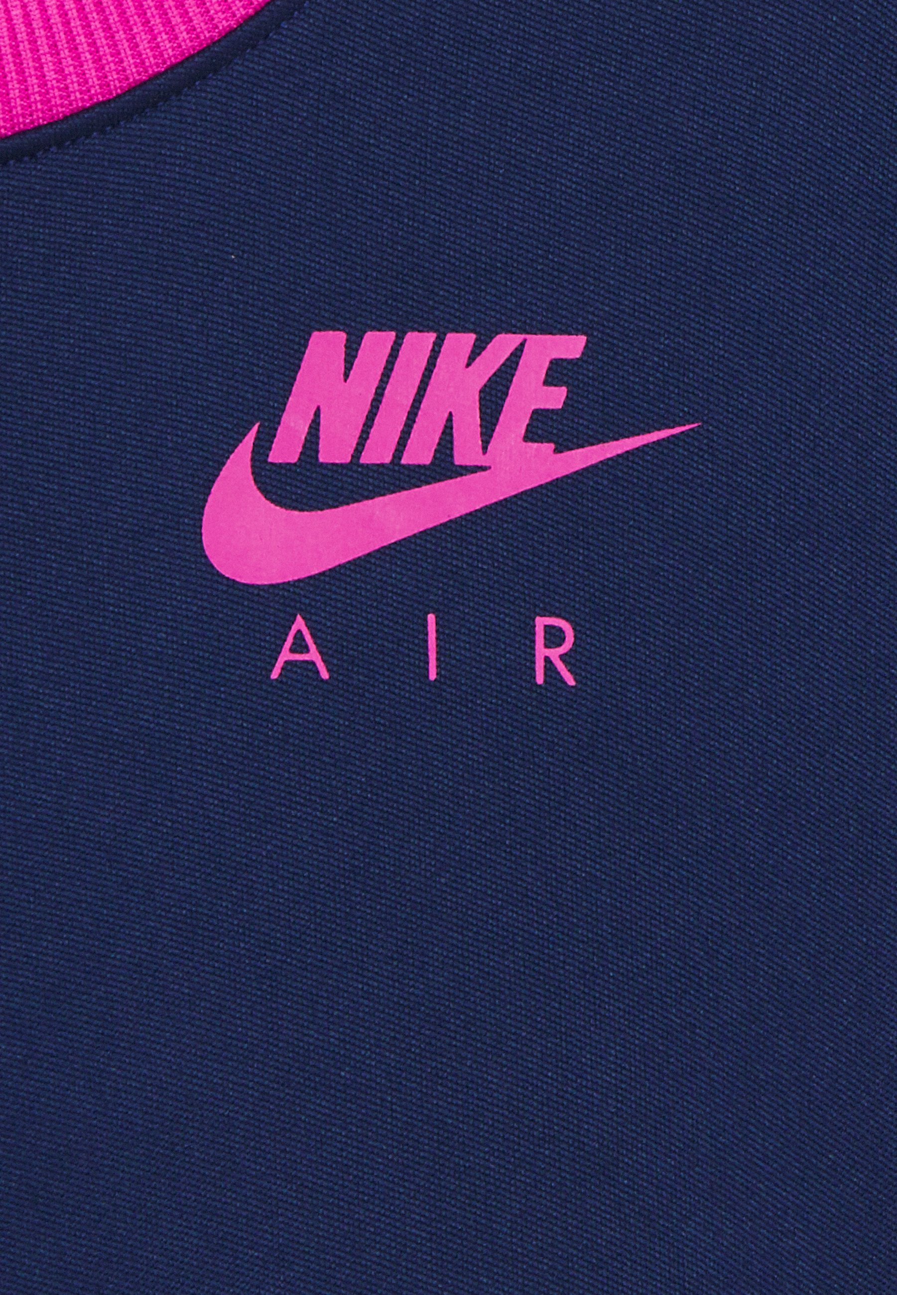 Nike Sportswear Air Dress - Vestido Ligero Blue Void/active Fuschia