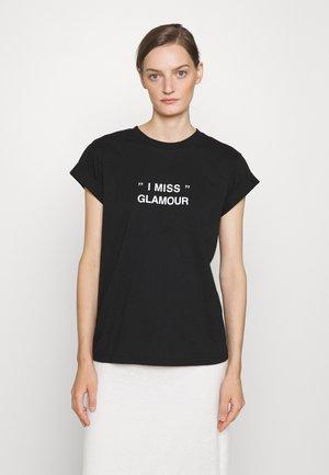 STANLEY GLAMOUR TEE - Print T-shirt - black