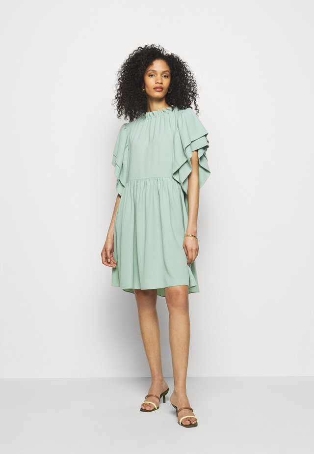 AMELIA - Korte jurk - pure mint