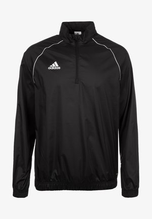 CORE 18 WINDBREAKER - Chaqueta de entrenamiento - black / white